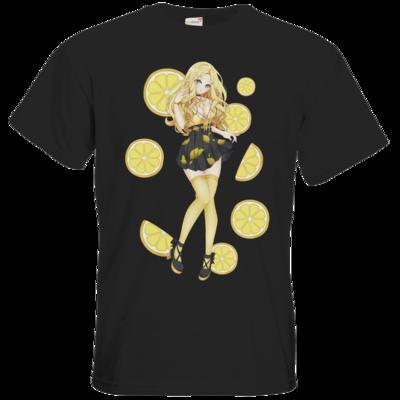 Motiv: T-Shirt Premium FAIR WEAR - Team Zitronen Eistee