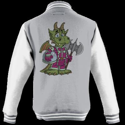 Motiv: College Jacke - Space-Dragon