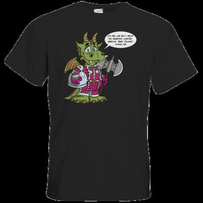 Motiv: T-Shirt Premium FAIR WEAR - Bairischer Drache