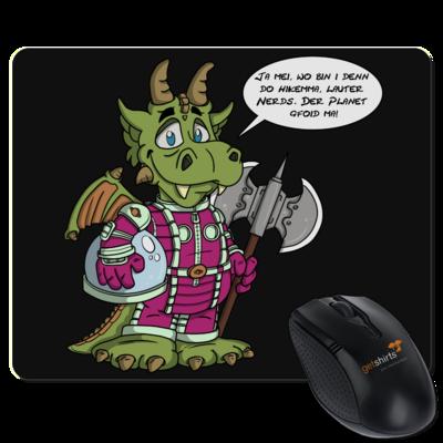 Motiv: Mousepad Textil - Bairischer Drache