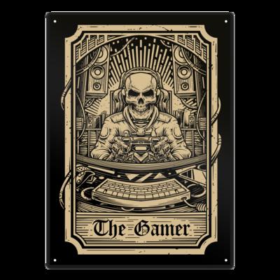 Motiv: Metallschild - GamerTarot