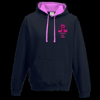 Motiv: Two-Tone Hoodie - pink