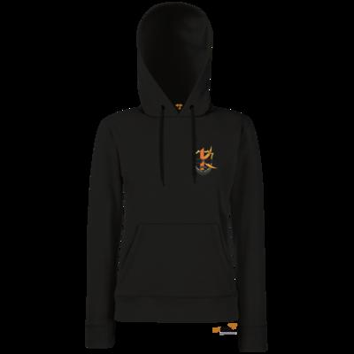 Motiv: Hoodie Damen Classic - Kiquad Logo