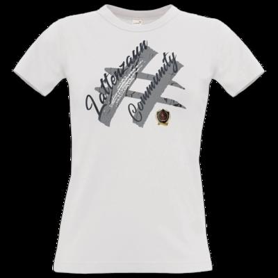 Motiv: T-Shirt Damen Premium FAIR WEAR - LattenzaunCommunity