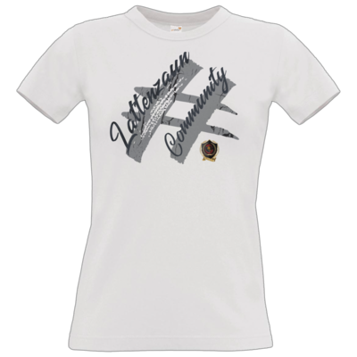 Motiv: T-Shirt Damen Premium FAIR WEAR - LattenzaunCommunity