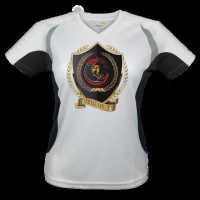 Motiv: Laufshirt Lady Running T - Totulus_tv Logo