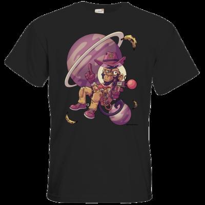 Motiv: T-Shirt Premium FAIR WEAR - Space Monkey