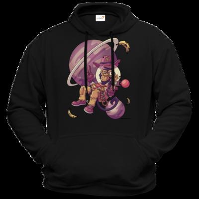 Motiv: Hoodie Premium FAIR WEAR - Space Monkey