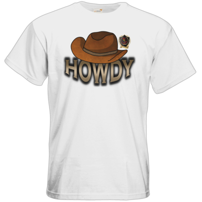 Motiv: T-Shirt Premium FAIR WEAR - Howdy-Hut
