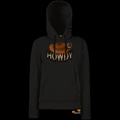 Motiv: Hoodie Damen Classic - Howdy-Hut