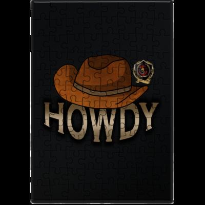 Motiv: Puzzle - Howdy-Hut