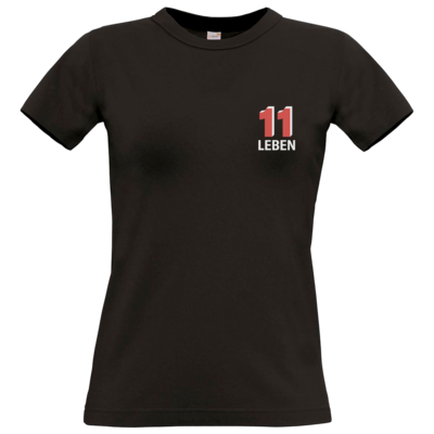 Motiv: T-Shirt Damen Premium FAIR WEAR - Podcast_11 Leben