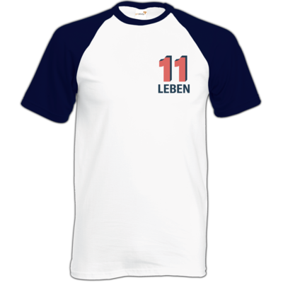 Motiv: Baseball-T FAIR WEAR - Podcast_11 Leben