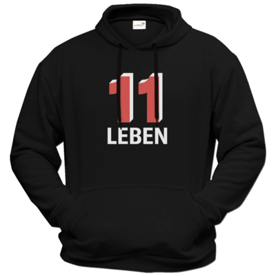 Motiv: Hoodie Premium FAIR WEAR - Podcast_11 Leben