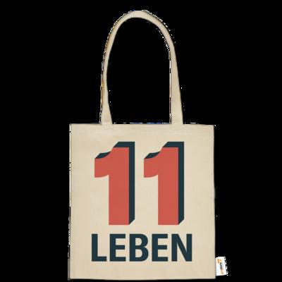 Motiv: Baumwolltasche - Podcast_11 Leben