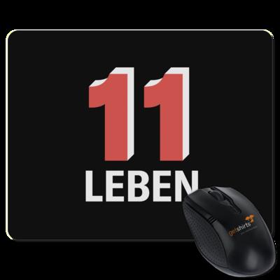Motiv: Mousepad Textil - Podcast_11 Leben
