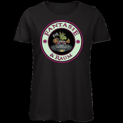 Motiv: Organic Lady T-Shirt - Logo in Farbe