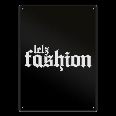 Motiv: Metallschild - Lelzfashion
