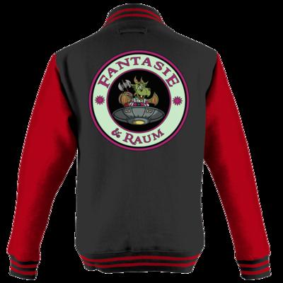 Motiv: College Jacke - Logo in Farbe