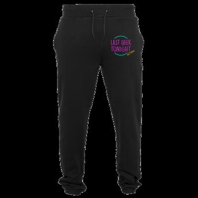 Motiv: Heavy Sweatpants - Logo (mittig)