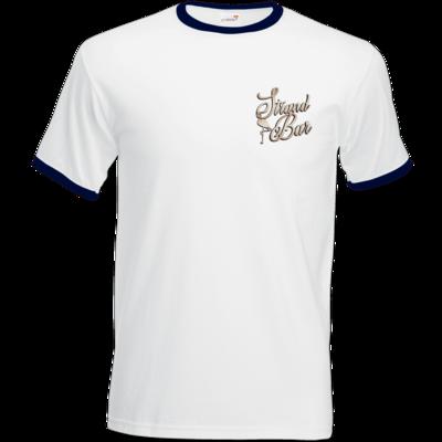 Motiv: T-Shirt Ringer - Strandbar