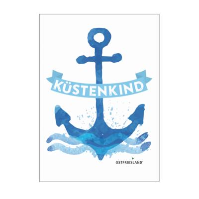 Motiv: Poster A1 - Anker Kuestenkind