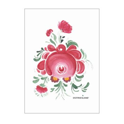 Motiv: Poster A1 - Ostfriesische Teerose