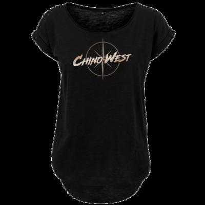 Motiv: Ladies Long Slub Tee - ChinoWest Logo