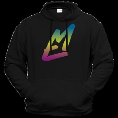 Motiv: Hoodie Premium FAIR WEAR - EM-Logo-Bunt
