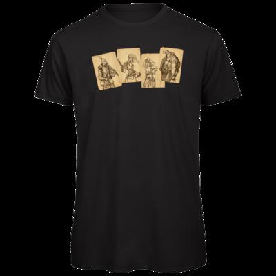 Motiv: Organic T-Shirt - Robinson Crusoe - Karten
