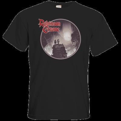 Motiv: T-Shirt Premium FAIR WEAR - Robinson Crusoe - Logo
