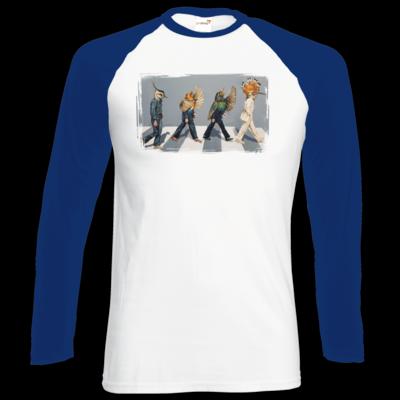 Motiv: Longsleeve Baseball T - Abbey Road
