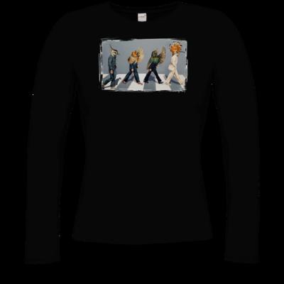 Motiv: Longsleeve Damen Organic - Abbey Road