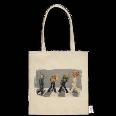 Motiv: Baumwolltasche - Abbey Road