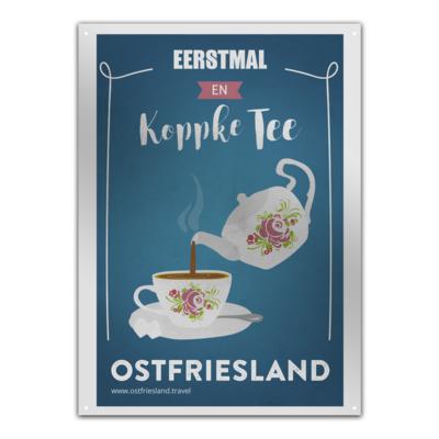 Motiv: Metallschild - Koppke Tee