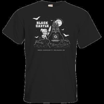 Motiv: T-Shirt Premium FAIR WEAR - Black Castle