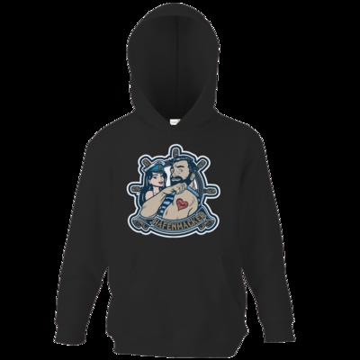 Motiv: Kids Hooded Sweat - Hafenmacker original Logo