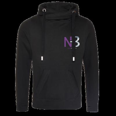 Motiv: Cross Neck Hoodie - NB