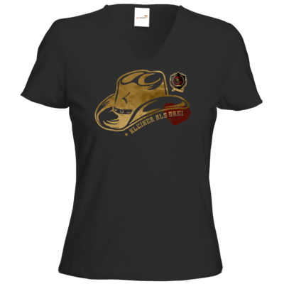 Motiv: T-Shirt Damen V-Neck Classic - Totulus_tv - Kleinerals3
