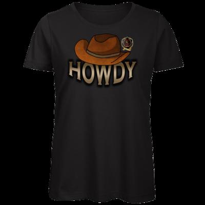 Motiv: Organic Lady T-Shirt - Howdy-Hut