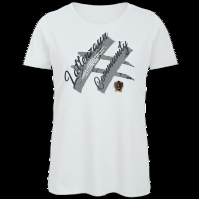 Motiv: Organic Lady T-Shirt - LattenzaunCommunity