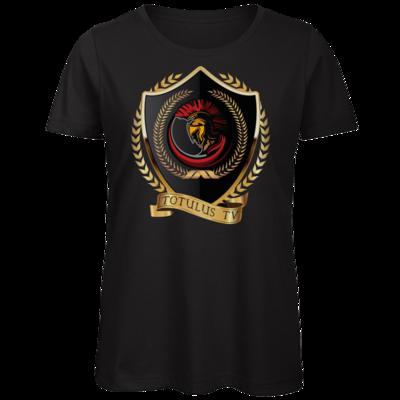 Motiv: Organic Lady T-Shirt - Totulus_tv Logo