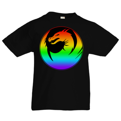 Motiv: Kids T-Shirt Premium FAIR WEAR - Drabu Rainbow Logo
