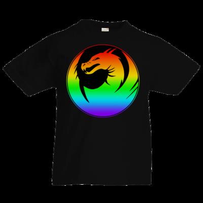 Motiv: Kids T-Shirt Premium FAIR WEAR - Drabu Rainbow Logo