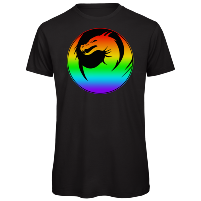 Motiv: Organic T-Shirt - Drabu Rainbow Logo