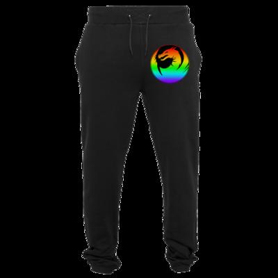 Motiv: Heavy Sweatpants - Drabu Rainbow Logo