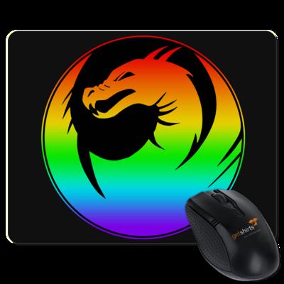 Motiv: Mousepad Textil - Drabu Rainbow Logo
