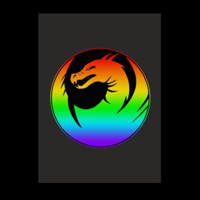 Motiv: Poster A1 - Drabu Rainbow Logo
