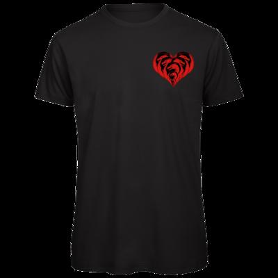Motiv: Organic T-Shirt - Drabu Herz