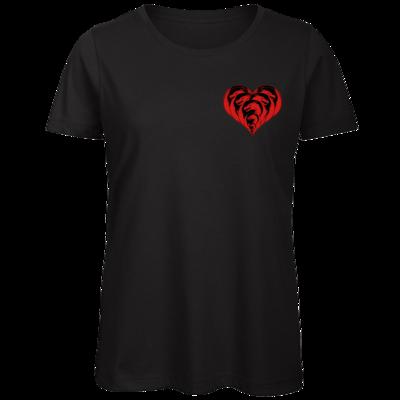 Motiv: Organic Lady T-Shirt - Drabu Herz